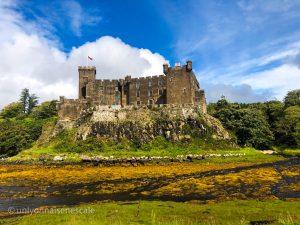 La château de Dunvegan sur l'île de Skye en Ecosse