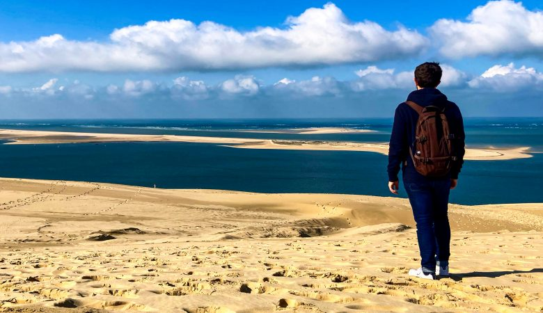 au sommer de la dune du pilat
