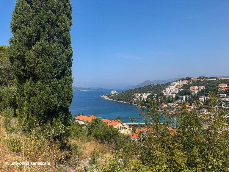 Lapad le quartier récent de Dubrovnik