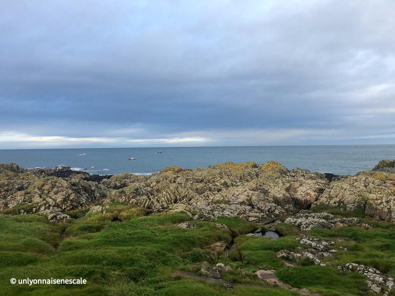 une autre vue de la mer depuis buchanness lighthouse