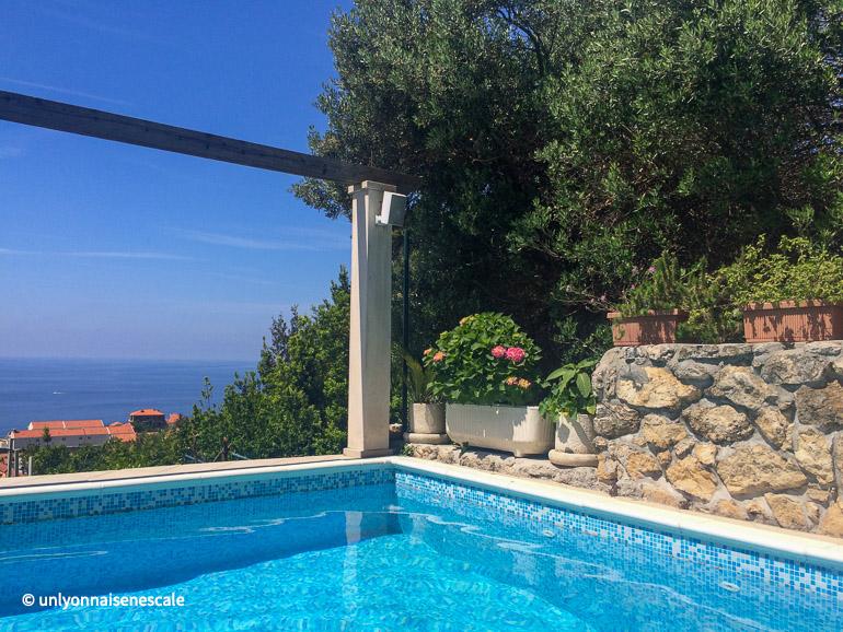 Villa Klaic la piscine
