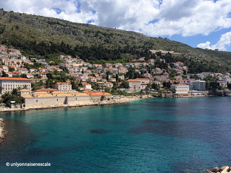 La plage de Banje procdhe de Dubrovnik