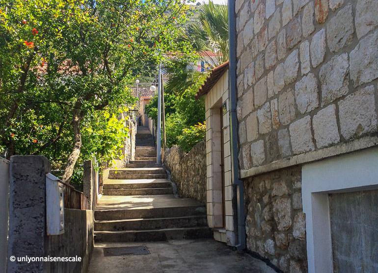 Les ruelles de Dubrovnik