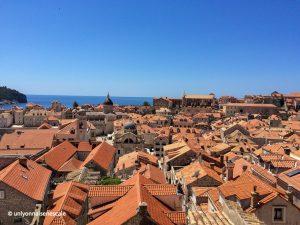 Vue des toits de Dubrovnik