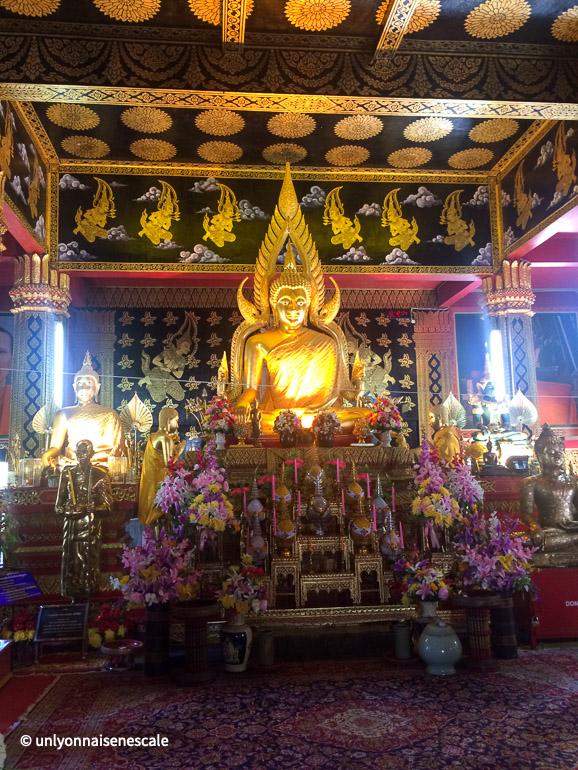 bouddha assis du wat phan on