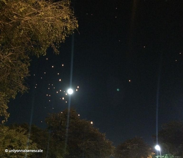 ciel lune lanterne chaign mai