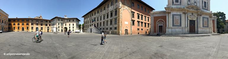 panoramique piazza cavalieri pise
